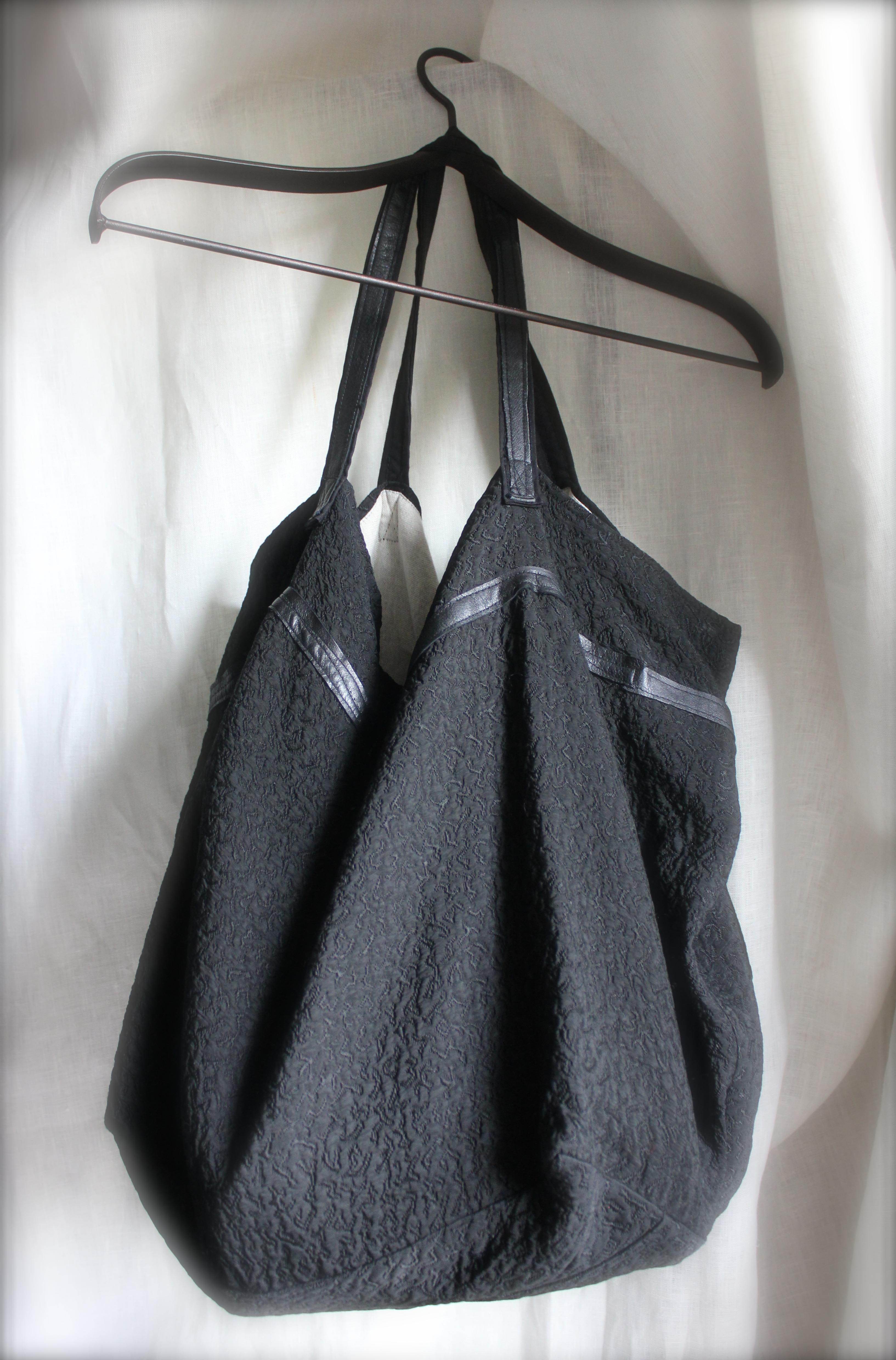 1ff0438dec Sombra (borsa di tessuto fatta a mano)   Tekoa Milano