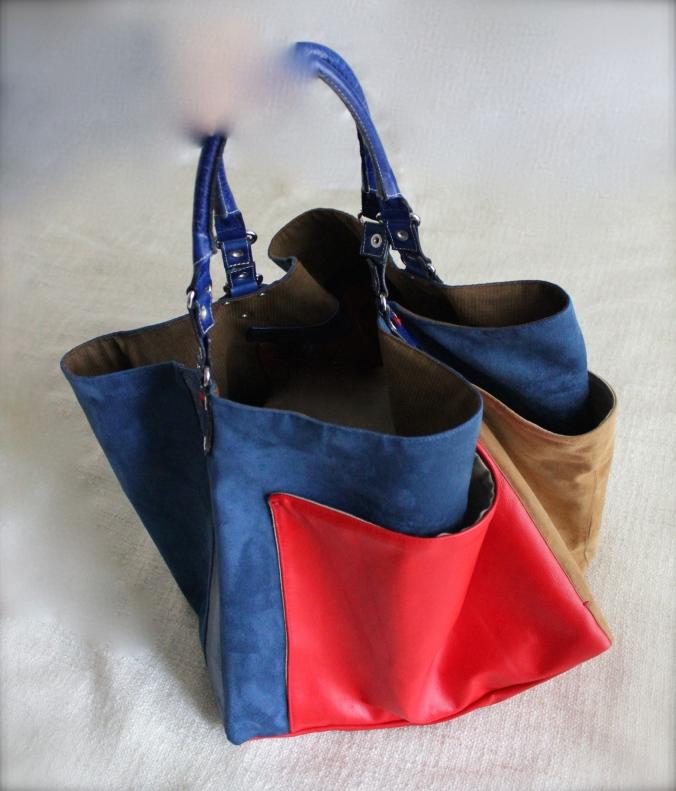 Genoa, borsa artigianale fatta a mano.